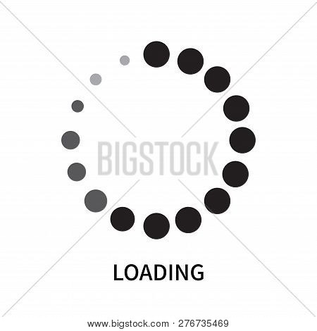 Loading Icon Isolated On White Background. Loading Icon Simple Sign. Loading Icon Trendy And Modern