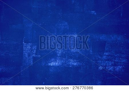 Grungy Blue Background Texture With Dirty Color And Spots