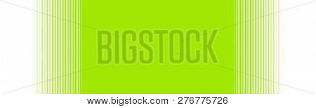 Wide Green Background Banner With Gradient Stripes