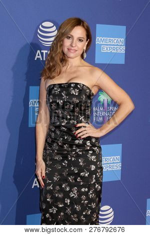 PALM SPRINGS - JAN 17:  Marina De Tavira at the 30th Palm Springs International Film Festival Awards Gala at the Palm Springs Convention Center on January 17, 2019 in Palm Springs, CA