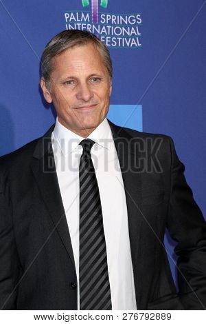 PALM SPRINGS - JAN 17:  Viggo Mortensen at the 30th Palm Springs International Film Festival Awards Gala at the Palm Springs Convention Center on January 17, 2019 in Palm Springs, CA