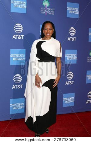 PALM SPRINGS - JAN 17:  Regina King at the 30th Palm Springs International Film Festival Awards Gala at the Palm Springs Convention Center on January 17, 2019 in Palm Springs, CA