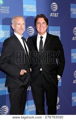 PALM SPRINGS - JAN 17:  John DeLuca, Rob Marshall at the 30th Palm Springs International Film Festival Awards Gala at the Palm Springs Convention Center on January 17, 2019 in Palm Springs, CA