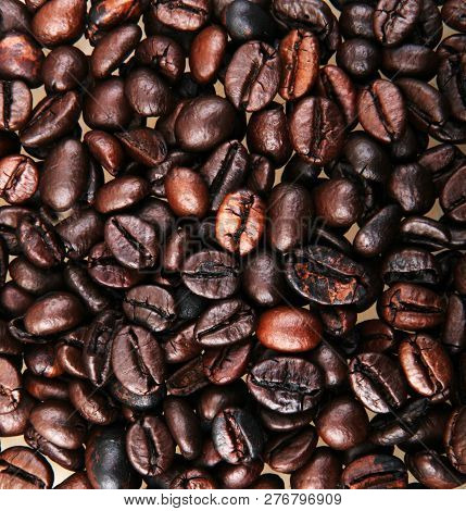 Full Frame Shot Of Coffee Beans Color Image Stock Photos
