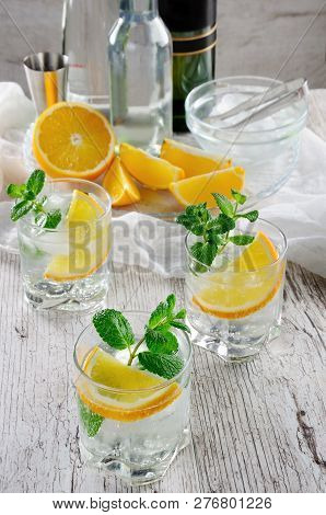 This Is A Light And Refreshing Summer Cocktail With A White Port, Mixed With Dry Or Sweet Wine With