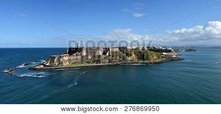 Castillo San Felipe Del Morro San Juan Puerto Rico, Major Landmark And Tourist Attraction