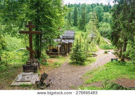 Holy Spring Of St. Irinarkh The Recluse, Borisoglebsky District, Russia.