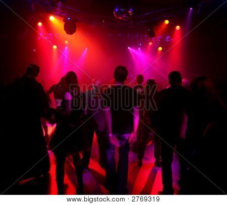 Dancing Teenagers