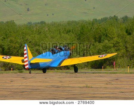 Warbird Taking Off