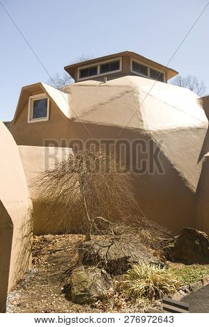 Geodesic Dome House Architecture Modern Echo Style