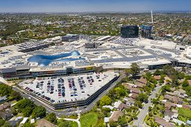 Melbourne, Australia - Dec 11, 2018: Aerial View Of Chadstone Shopping Centre And Surrounding Reside