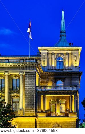 New Palace, Former Royal Residence Of The Kingdom Of Serbia And Later Kingdom Of Yugoslavia. Today I