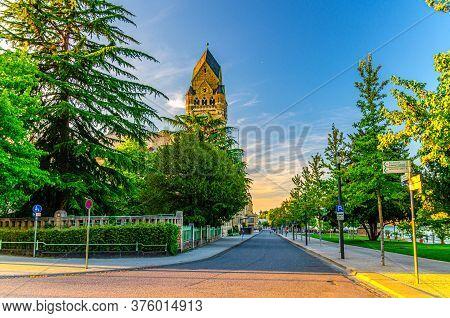 Koblenz, Germany, August 23, 2019: Court Of Appeal Oberlandesgericht Rhineland Palatinate Building W