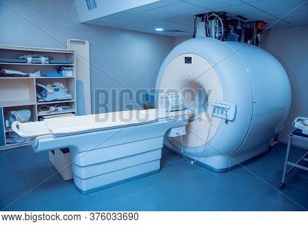 Medical Equipment. Mri Room In Hospital. Background.