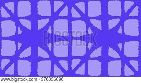 Japanese Tie Dye Seamless Pattern. Soft Shape Curve Design Geometric Bohemian Asian Tie Dye Pattern.