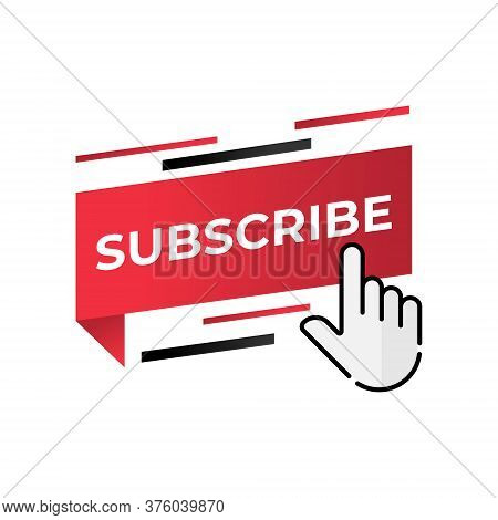Subscribe. Subscribe icon. Subscribe vector. Subscribe icon vector. Subscribe illustration. Subscribe logo template. Subscribe button. Subscribe symbol. Subscribe sign. Subscribe vector icon flat design for web icons, symbol, banner, app, UI.