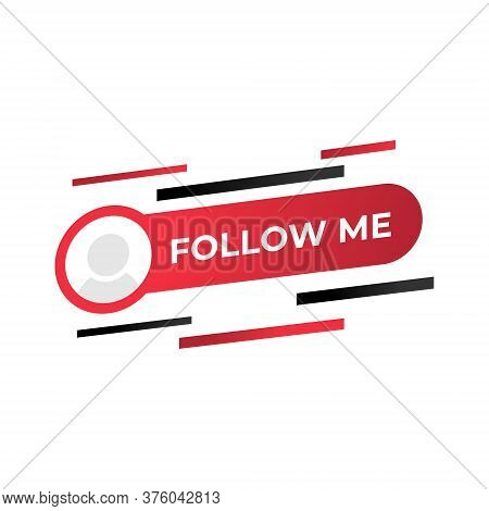 Follow. Follow icon. Follow vector. Follow icon vector. Follow illustration. Follow logo template. Follow button. Follow symbol. Follow sign. Follow icon design. Follow vector icon flat design for web icons, logo, symbol, banner, app, UI.