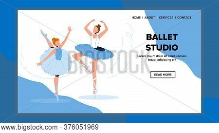 Ballet Studio For Repetition Dance Motion Vector
