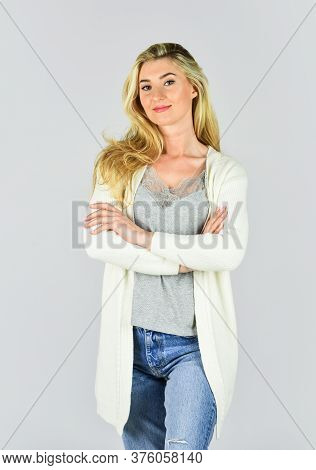 Female Beauty. Fashion Collection. Looking Trendy. Pretty Woman Feeling Comfy. Fashion And Beauty. F