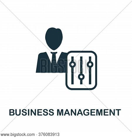 Business Management Icon. Simple Element From Business Management Collection. Creative Business Mana