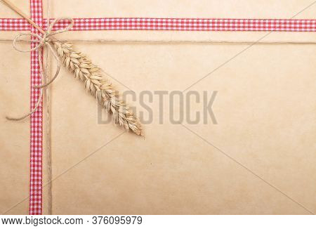 Colorful And Crisp Image Of Background With Ribbon And Twine