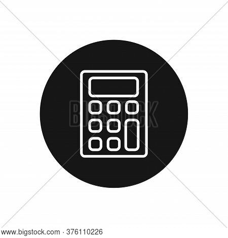 Calculator Icon Isolated On White Background. Calculator Icon In Trendy Design Style For Web Site An