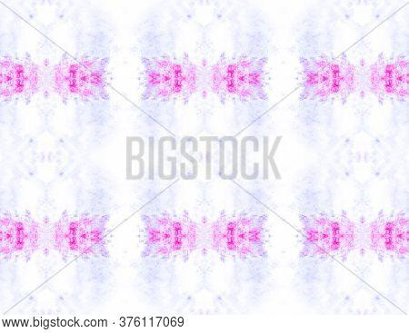 Simple Cotton Print. Folk Embroidery. Simple Textile Print. Beige Seamless Shibori Style Design. Bei