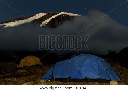 Kilimanjaro 019 Karango Camp Tent