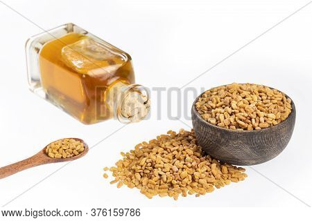Fenugreek Seeds And Oil - Trigonella Foenum - Graecum