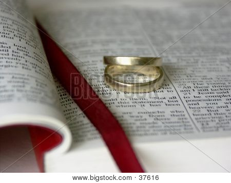 Bible And Rings (request)