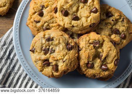 Homemade Warm Chocolate Chip Cookies
