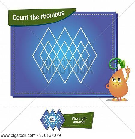 Count The Rhombus Brainteaser