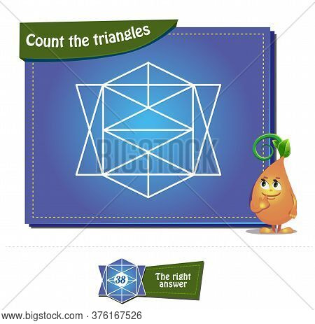 Count The Triangles 30 Brainteaser