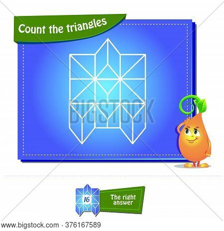 Count The Triangles 32 Brainteaser