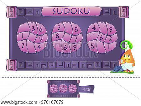 Educational Game Answer  Sudoku