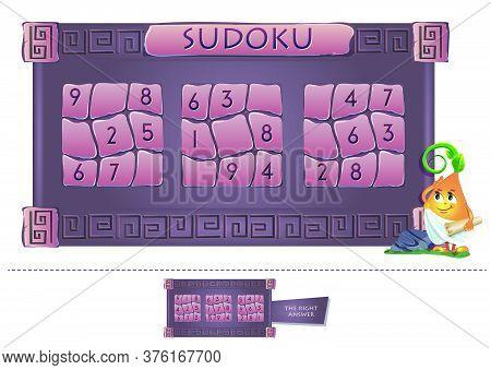 Educational Game Sudoku Adults