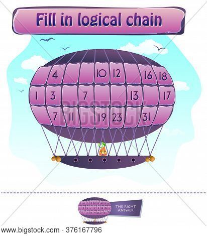 Fill In Logical Chain Puzzle