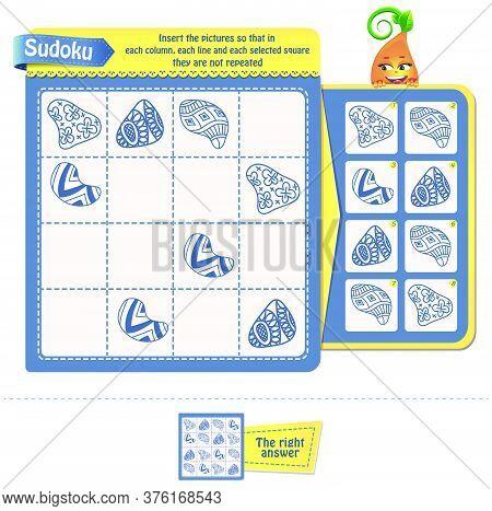 Sudoku  Iq Adults Zentangle