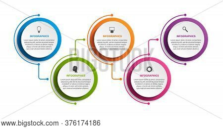 Options Infographics Template. Infographics For Business Presentations Or Information Banner.