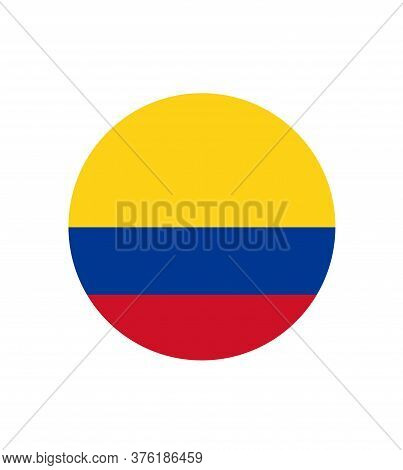 National Columbia Flag, Official Colors And Proportion Correctly. National Columbia Flag.