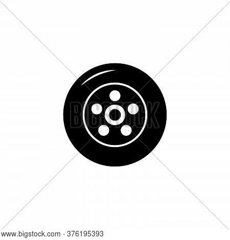 Illustration Vector Graphic Of Wheel Tire Car Icon