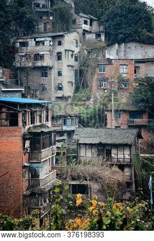 Xiahao Old street in Chongqing, China.