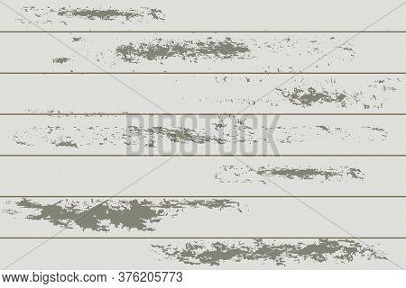 Wood Texture. Granular Cracked Floorboard. Background Of Rough Veneer. Shabby Old Board. Natural Tex
