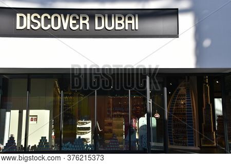 Dubai, Uae - Feb 15: Discover Dubai At Bluewaters Island, An Artificial Island Off The Jumeirah Beac