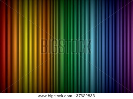 Theater Silk Curtain Background With Wave, Eps10