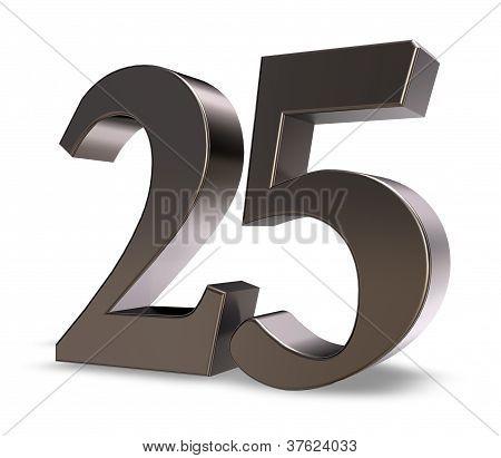Número veinticinco