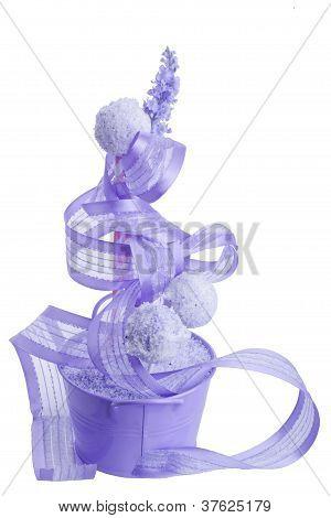 sweet purple cocunut cakepops