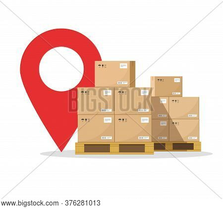 Courier Logistic Cargo Online Destination, Freight Transportation Delivery, Shipping Warehouse Mail