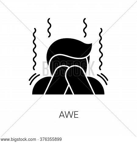 Awe Black Glyph Icon