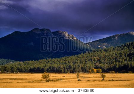 Stormy Skies For Autumn